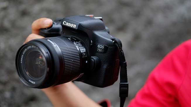 Canon EOS 750D Kamera DSLR